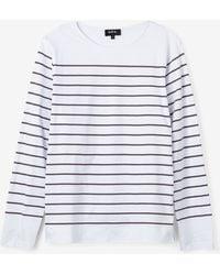 A.P.C. Lagoon Sailor Shirt - Lyst