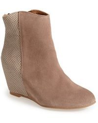 H by Hudson 'Sefton' Hidden Wedge Bootie - Lyst
