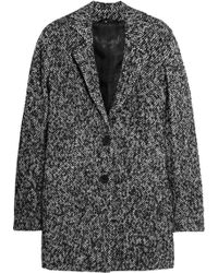 Karl Lagerfeld Orman Brushed Jacquard Coat - Lyst