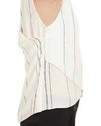A.L.C. Crossoverback Hobart Top - Lyst