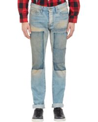 NSF Clothing Patchwork Jeans - Lyst