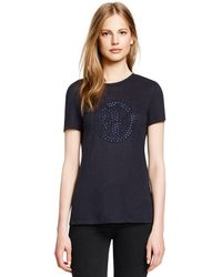 Tory Burch Jillian Tee - Lyst