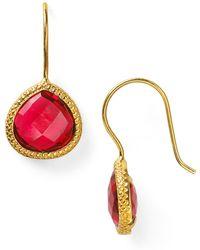 Coralia Leets Braided Teardrop Earrings