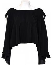 Givenchy | Top In Seta Asimmetrico | Lyst