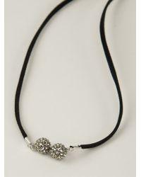 Roni Blanshay - Snake Pendant Necklace - Lyst