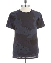 G-star Raw Heathered Camouflage Tee - Lyst
