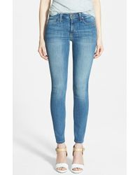 Joe's Jeans 'Cool Off' Mid Rise Ankle Skinny Jeans - Lyst