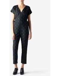 Rachel Comey Black Paloma Jumpsuit - Lyst
