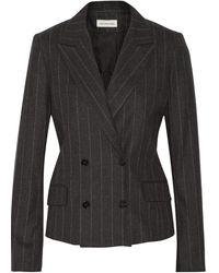 Etoile Isabel Marant Huxley Striped Wool Blend Blazer - Lyst