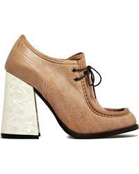 J.W. Anderson J.W. Anderson Womens Pearl Heels - Lyst