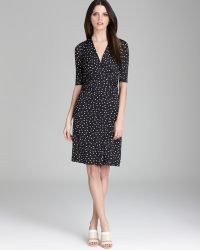Max Mara Dress Abetone Jersey Polka Dot - Lyst