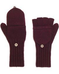 Madewell - Merino Ribbed Gloves - Lyst