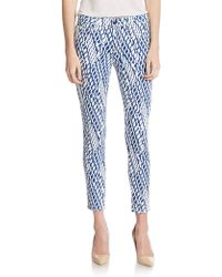 Joe's Jeans Graphic Skinny Ankle Jeans - Lyst