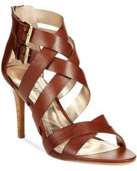 Rampage Katules Caged Sandals brown - Lyst