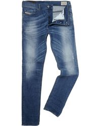Diesel Tepphar 609r Regular Slim Carrot Fit Jean - Lyst