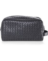 Bottega Veneta Intrecciato Toiletry Case - Lyst
