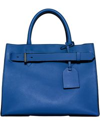 Reed Krakoff Rk40 Belted Leather Tote Bag - Lyst