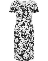 Precis Petite - Regatta Floral Print Dress - Lyst