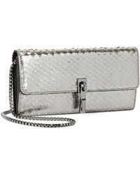 Elizabeth and James - Cynnie Metallic Leather Wallet - Lyst
