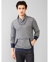 Gap French Terry Nep Pullover - Lyst