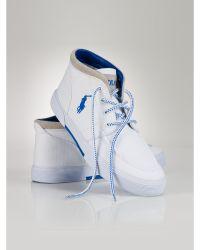 Polo Ralph Lauren Canvas Frederico Sneaker - Lyst