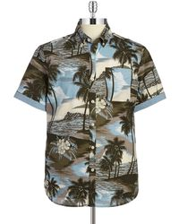 7 Diamonds - Short Sleeve Sportshirt - Lyst
