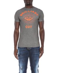 DSquared2 Brilliant Cut Cottonblend Tee - Lyst