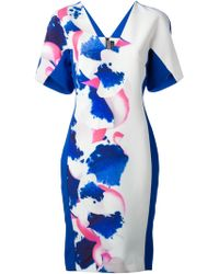 Roland Mouret Redbay Dress - Lyst