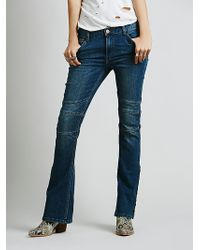 Free People Skyler Seamed Skinny - Lyst
