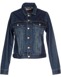 Cheap Monday Denim Outerwear blue - Lyst