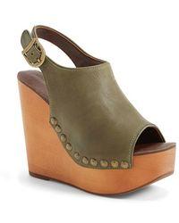 Jeffrey Campbell 'Snick' Platform Sandal - Lyst