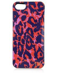 Diane von Furstenberg Vintage Leopard-Print Iphone® 5 Case - Lyst