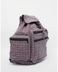 Hiptipico - Handmade Floral Tapestry Backpack - Lyst