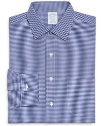 Brooks Brothers | Framed Gingham Check Regent Classic Fit Dress Shirt | Lyst