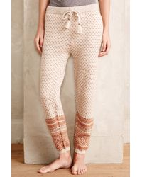 Saturday/sunday Fairisle Sweater Pants - Lyst