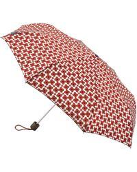 Orla Kiely   Minilite Flower Shadow Print Umbrella   Lyst