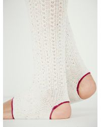 Free People Pointer Slouch Yoga Sock - Lyst