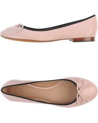 Celine Pink Ballet Flats - Lyst