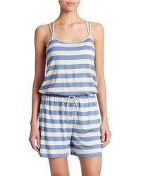 Tommy Bahama Soft Striped Jumpsuit - Lyst