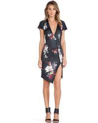 Ringuet - Floral-Print Crepe Dress - Lyst