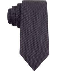 Calvin Klein Textured Silk-blend Tie - Lyst