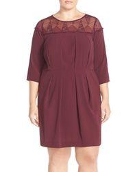 Carmakoma - Lace Yoke A-line Dress - Lyst