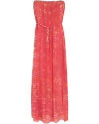 Red Haute Printed Maxi Dress - Lyst