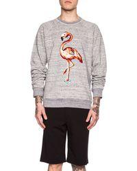 Marc Jacobs Men'S Swirly Cotton Sweatshirt gray - Lyst
