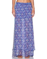 Gypsy 05 - Georgette Maxi Skirt - Lyst