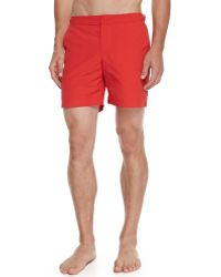 Orlebar Brown Bulldog Midlength Swim Trunks - Lyst