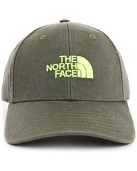 The North Face Black And Fluo Tnf Classic Cap gray - Lyst