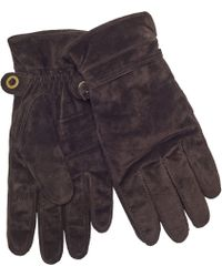 John Lewis - Pull Cord Suede Gloves - Lyst