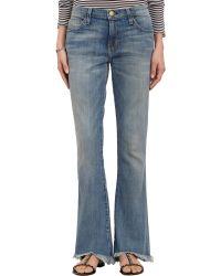 Current/Elliott Fivepocket Flip Flop Jeans Super Loved - Lyst