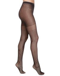 Wolford Bastille Fishnet Tights - Lyst